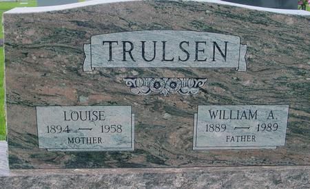 TRULSEN, WILLIAM A. & LOUISE - Crawford County, Iowa | WILLIAM A. & LOUISE TRULSEN