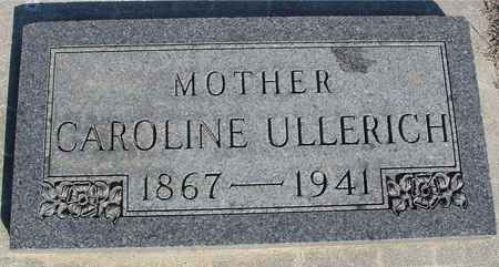 ULLERICH, CAROLINE - Crawford County, Iowa | CAROLINE ULLERICH