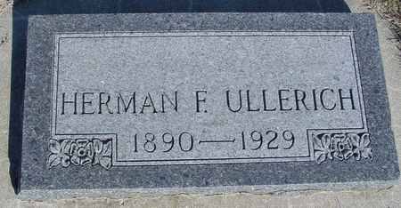 ULLERICH, HERMAN F. - Crawford County, Iowa | HERMAN F. ULLERICH