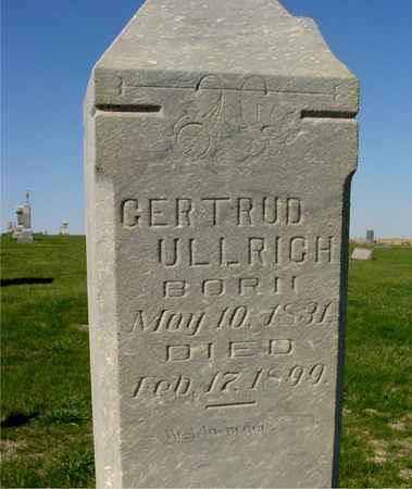 ULLRICH, GERTRUD - Crawford County, Iowa | GERTRUD ULLRICH