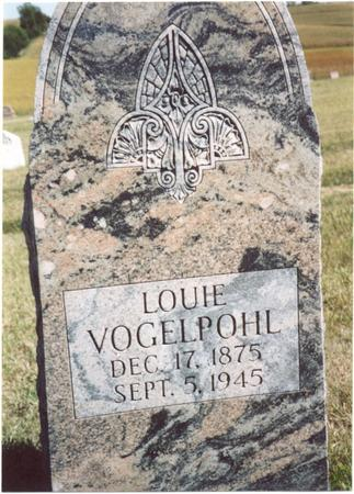 VOGELPOHL, LOUIE - Crawford County, Iowa | LOUIE VOGELPOHL