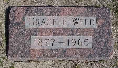 WEED, GRACE E. - Crawford County, Iowa | GRACE E. WEED
