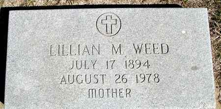 WEED, LILLIAN M. - Crawford County, Iowa | LILLIAN M. WEED