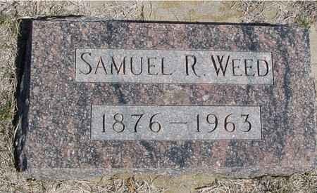 WEED, SAMUEL R. - Crawford County, Iowa | SAMUEL R. WEED