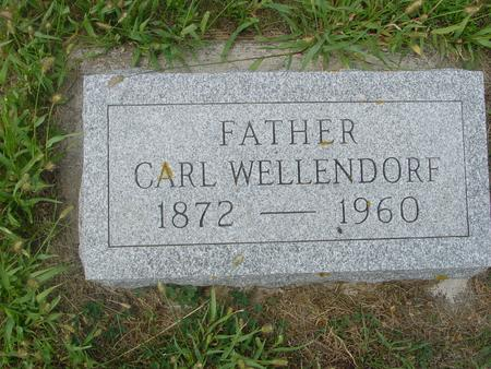 WELLENDORF, CARL - Crawford County, Iowa | CARL WELLENDORF