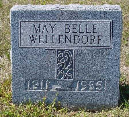 WELLENDORF, MAY BELLE - Crawford County, Iowa | MAY BELLE WELLENDORF