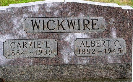 WICKWIRE, ALBERT & CARRIE - Crawford County, Iowa | ALBERT & CARRIE WICKWIRE