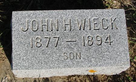 WIECK, JOHN H. - Crawford County, Iowa | JOHN H. WIECK