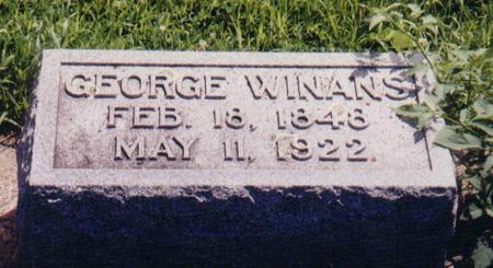 WINANS, GEORGE - Crawford County, Iowa | GEORGE WINANS