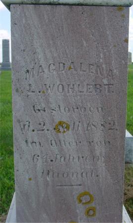 WOHLERT, MAGDALENA - Crawford County, Iowa | MAGDALENA WOHLERT