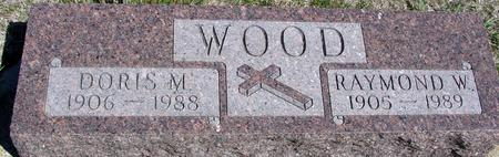 WOOD, RAYMOND & DORIS - Crawford County, Iowa | RAYMOND & DORIS WOOD