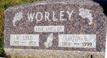 WORLEY, W. LYLE & LEOTA - Crawford County, Iowa | W. LYLE & LEOTA WORLEY