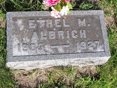 ALDRICH, ETHEL - Dallas County, Iowa | ETHEL ALDRICH
