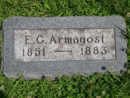 ARMAGOST, E.G. - Dallas County, Iowa | E.G. ARMAGOST