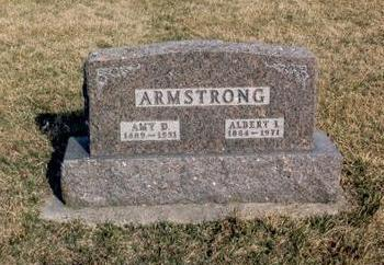 ARMSTRONG, ALBERT - Dallas County, Iowa | ALBERT ARMSTRONG
