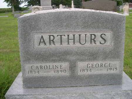 ARTHURS, CAROLINE - Dallas County, Iowa | CAROLINE ARTHURS
