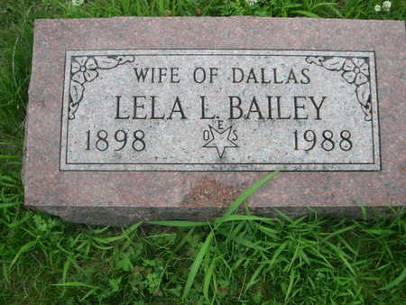 BAILEY, LELA L. - Dallas County, Iowa | LELA L. BAILEY