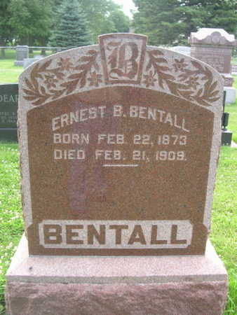 BENTALL, ERNETS - Dallas County, Iowa | ERNETS BENTALL