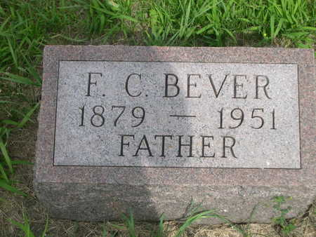 BEVER, F. C. - Dallas County, Iowa | F. C. BEVER