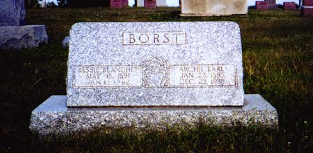BORST, ARCHIE - Dallas County, Iowa | ARCHIE BORST