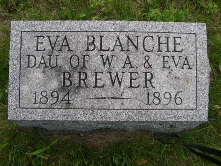 BREWER, EVA BLANCH - Dallas County, Iowa | EVA BLANCH BREWER