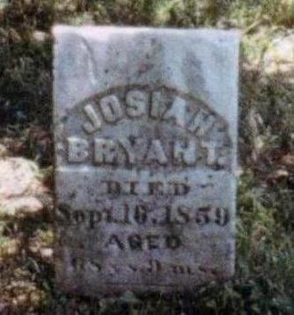 BRYANT, JOSIAH - Dallas County, Iowa   JOSIAH BRYANT