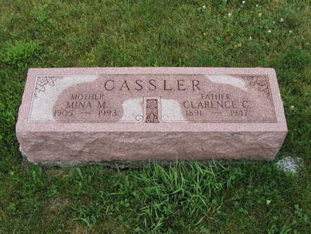 CASSLER, CLARENCE - Dallas County, Iowa | CLARENCE CASSLER