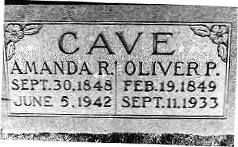 CAVE, AMANDA - Dallas County, Iowa | AMANDA CAVE