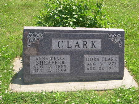 CLARK, DORA - Dallas County, Iowa | DORA CLARK