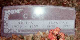 COX, ARLEEN - Dallas County, Iowa | ARLEEN COX