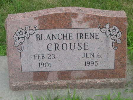 CROUSE, BLANCH IRENE - Dallas County, Iowa | BLANCH IRENE CROUSE