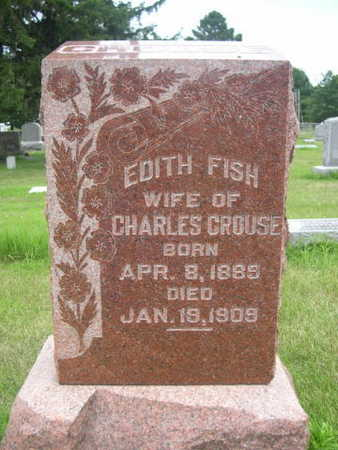 CROUSE, EDITH FISH - Dallas County, Iowa | EDITH FISH CROUSE