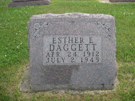 DAGGETT, ESTER E. - Dallas County, Iowa | ESTER E. DAGGETT