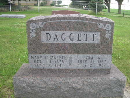 DAGGETT, EZRA A. - Dallas County, Iowa | EZRA A. DAGGETT
