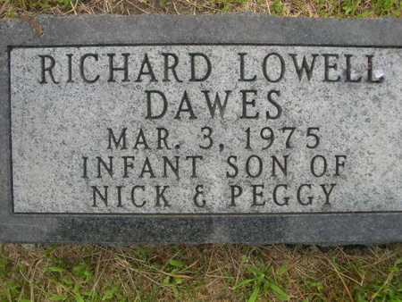 DAWES, RICHARD LOWELL - Dallas County, Iowa | RICHARD LOWELL DAWES