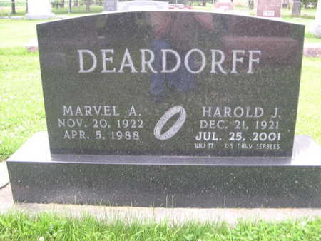 DEARDORF, MARVEL - Dallas County, Iowa | MARVEL DEARDORF