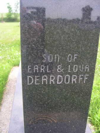 DEARDORF, SON - Dallas County, Iowa | SON DEARDORF
