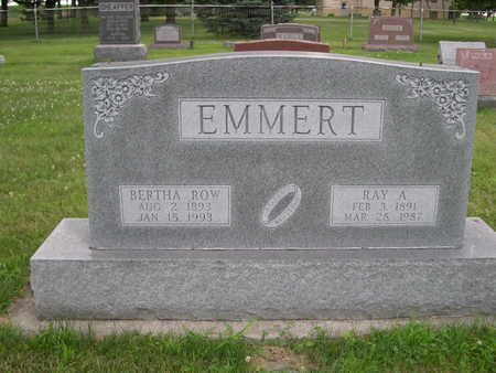 EMMERT, BERTHA ROW - Dallas County, Iowa | BERTHA ROW EMMERT