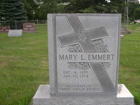 EMMERT, MARY L. - Dallas County, Iowa | MARY L. EMMERT