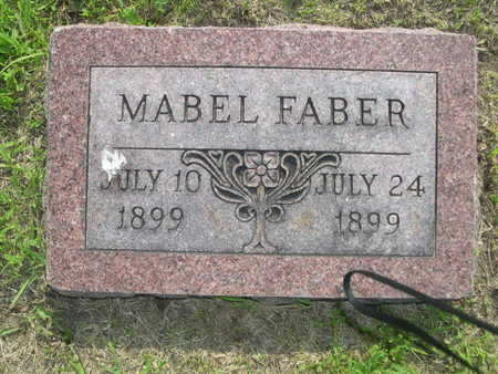 FABER, MABEL - Dallas County, Iowa | MABEL FABER