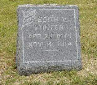 FOSTER, EDITH VIOLA - Dallas County, Iowa | EDITH VIOLA FOSTER