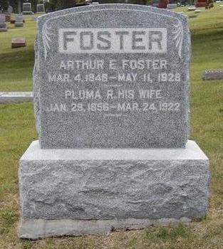 WARRINGTON FOSTER, PLUMA RUTH - Dallas County, Iowa | PLUMA RUTH WARRINGTON FOSTER