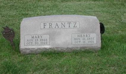FRANTZ, HENRY - Dallas County, Iowa | HENRY FRANTZ