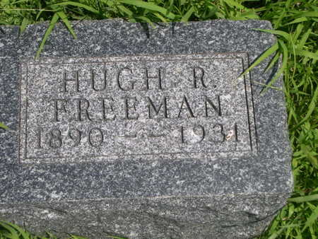 FREEMAN, HUGH R - Dallas County, Iowa | HUGH R FREEMAN