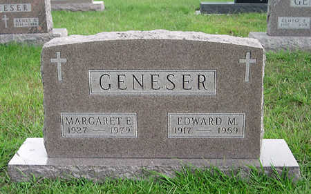 GENESER, MARGARET E. - Dallas County, Iowa | MARGARET E. GENESER
