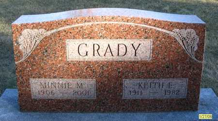 CRAVEN GRADY, MINNIE M. - Dallas County, Iowa | MINNIE M. CRAVEN GRADY