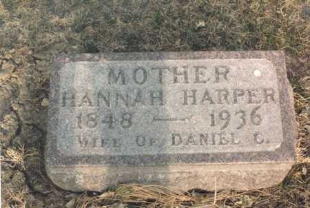 HARPER, HANNAH - Dallas County, Iowa | HANNAH HARPER