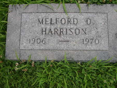 HARRISON, MELFORD D. - Dallas County, Iowa | MELFORD D. HARRISON