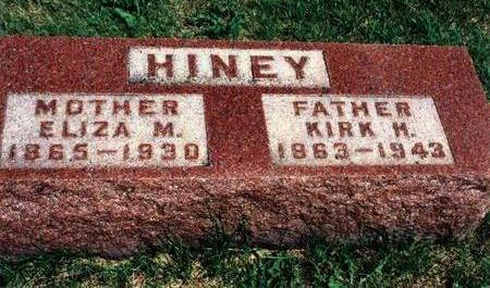 HINEY, KIRK - Dallas County, Iowa | KIRK HINEY