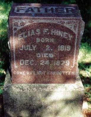 HINEY, ELIAS - Dallas County, Iowa | ELIAS HINEY